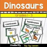 Dinosaurs | Nonfiction | Center Activities | Worksheets | Second and Third Grade