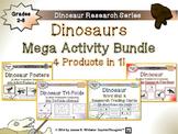 Dinosaurs Activity Mega Bundle Fold-Ems, Tri-Folds, Posters, Cards, Pop-Ems