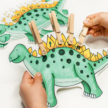 Dinosaurs Activity Pack for Preschoolers