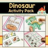 Dinosaurs Activity Pack for Preschoolers