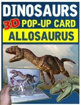 Dinosaurs: Allosaurus Pop-Up Card