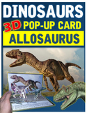 Dinosaurs: Allosaurus Pop-Up Card