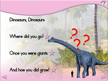 Dinosaurs - Animated Step-by-Step Poem - Regular