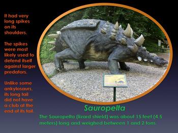 "Dinosaurs: Ankylosaurs - ""The Armored Dinosaurs"" - PowerPoint & Activities"