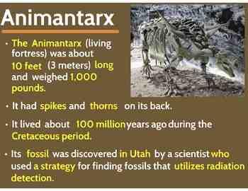 "Dinosaurs: Ankylosaurs - ""The Armored Dinosaurs"" (Prezi)"