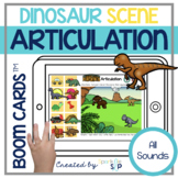 Dinosaurs Articulation Boom Cards™️ All Sounds   Speech Therapy