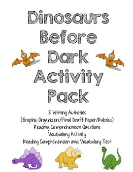 Dinosaurs Before Dark Activity Pack