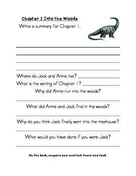Dinosaurs Before Dark Book Study