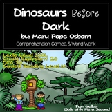 Dinosaurs Before Dark Comprehension (A Book Companion)