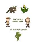 Dinosaurs Before Dark Comprehension Packet