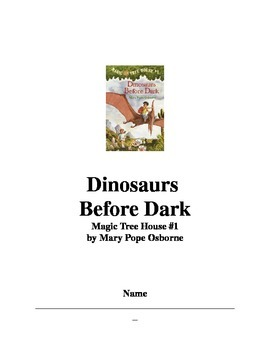 Dinosaurs Before Dark Comprehension Questions