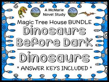 Dinosaurs Before Dark   Dinosaurs Fact Tracker: Magic Tree House BUNDLE (45 pgs)