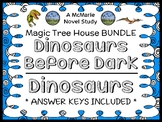 Dinosaurs Before Dark | Dinosaurs Fact Tracker: Magic Tree House BUNDLE (45 pgs)
