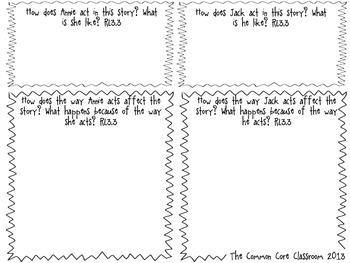 Dinosaurs Before Dark Graphic Organizer RL3.3