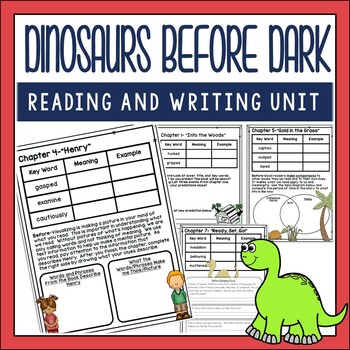 Dinosaurs Before Dark Novel Study
