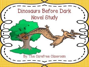 Dinosaurs Before Dark Interactive Journal Novel Study Set