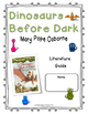 Dinosaurs Before Dark Literature Guide (Common Core Aligned)