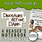 Dinosaurs Before Dark: Jack and Annie, MTH #1 {A Book Study}