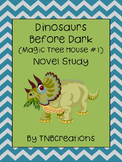 Magic Tree House Dinosaurs Before Dark Novel Study