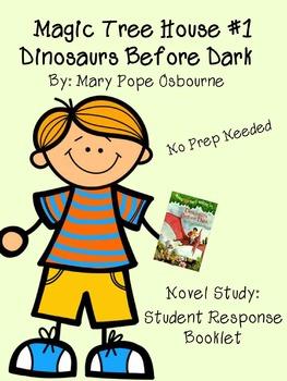 Dinosaurs Before Dark (Magic Tree House #1) Readers Response