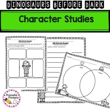 Dinosaurs Before Dark Novel Study Unit