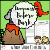 Novel Study Unit Dinosaurs Before Dark