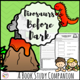 Novel Study Unit Dinosaurs Before Dark