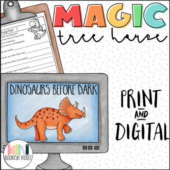 Dinosaurs Before Dark Magic Tree House Unit