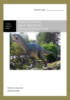 Dinosaurs Before Dark (Magic Tree House) Reading Guide / Novel Study