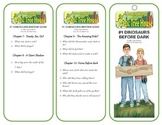#1 Dinosaurs Before Dark - Comprehension Bookmarks - Magic Tree House Series