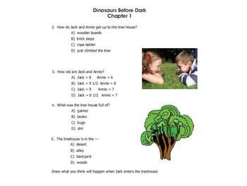 Dinosaurs Before Dark Response Journal