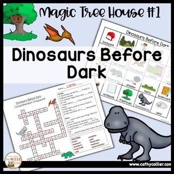 Magic Tree House - Dinosaurs Before Dark - #1