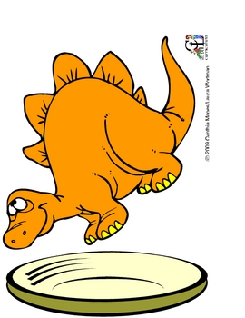 Dinosaurs Berry Cake: Story, Counting