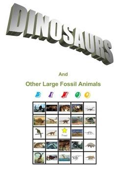 Dinosaurs Bingo