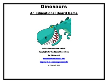 Dinosaurs Board Game