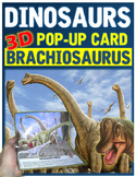 Dinosaurs: Brachiosaurus Pop-Up Card