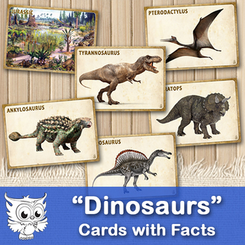Dinosaurs - Cards and Facts