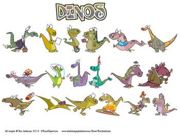 Dinosaurs Cartoon Clipart