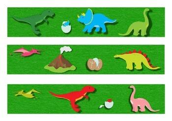 Dinosaurs Classroom Bulletin Board Border