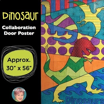 DINOSAURS - CLASSROOM COLLABORATION POSTER