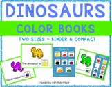 Dinosaurs Color Books (Adapted Books)