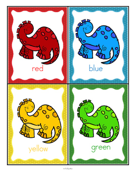 Dinosaurs Color Posters FREE