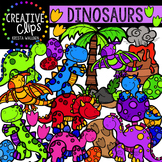 Dinosaurs {Creative Clips Digital Clipart}