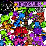 Dinosaur Clipart {Creative Clips Digital Clipart}