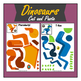 Dinosaurs  Cut and Paste