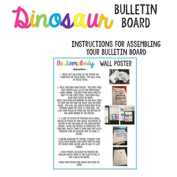 Dinosaurs Didn't Read Bulletin Board