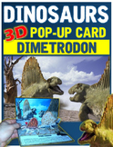Dinosaurs: Dimetrodon Pop-Up Card