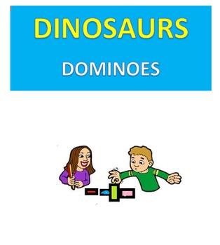 Dinosaurs Dominoes