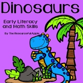 Dinosaurs-Early Literacy and Math Skills