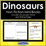 Dinosaurs Non Fiction Mini Books